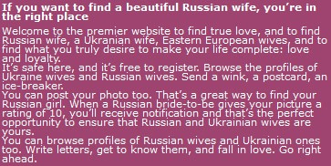 Wonder Buy Russian Wifes 96